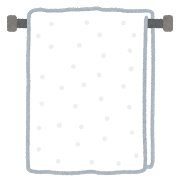 タオルの臭いを取る方法 熱湯や漂白剤で悪臭対策
