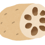 れんこんの皮は食べられる?栄養や丸ごとレシピは?