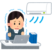 オフィスの冷房対策 足や首を温め社内を快適にするには?