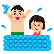 ビニールプールの水は毎日入れ替える?消毒すれば使える?