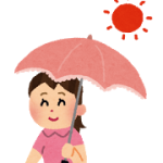 日傘の効果的な色や内側は?白は意味ない?